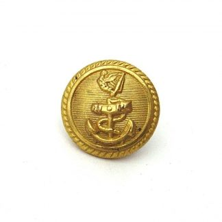 Un-identified Shipping Line 18 mm Officers Quality gilt button