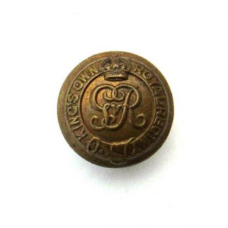 The King's Own Royal Regiment  - Norfolk Yeomanry OR's KC 24 mm  gilding metal button