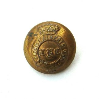 PRINCE ALBERT'S OWN ROYAL LEICESTER YEOMANRY OFFICERS KC 24 mm gilt button