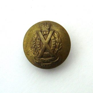 Scottish Horse Yeomanry OR's 24 mm  gilding metal button