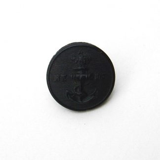 ROYAL THAMES YACHT CLUB QVC 24 mm black horn button
