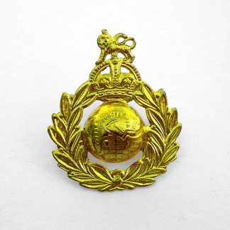 ROYAL MARINES KC OR'S g/m Cap Badge - original WWII manufacture