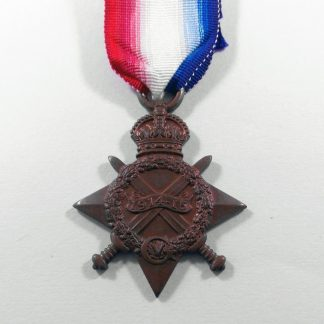 1915/15 STAR  16923 PTE. J. R. PYNES, A. S. C