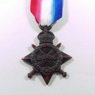 1914/15 Star Z.1846 PTE J. WOOD, RIF.BRIG.
