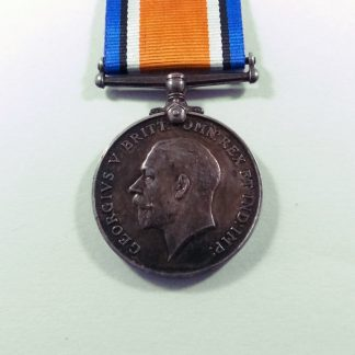 BRITISH WAR MEDAL 1914-1918 Impressed 16660 PTE. F. GOSLING. C. GUARDS.