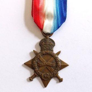 1914/15 Star No.141 ' L.NAIK. MUHAMMAD AFZAL, 24/ PUNJABIS