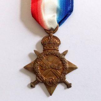 1914/15 Star 2128 SEPOY SHER KHAN. 82 PJBIS.