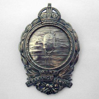 MINE CLEARANCE SERVICE' w/m sleeve badge - ORIGINAL