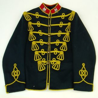 LOYAL SUFFOLK HUSSARS OR'S No.1 DRESS TUNIC, pre WWI.