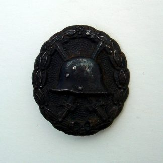 IMPERIAL GERMAN - WOUND BADGE - WWI - Black