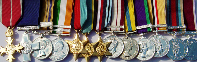 Jeremy Tenniswood Militaria Medal Mounting