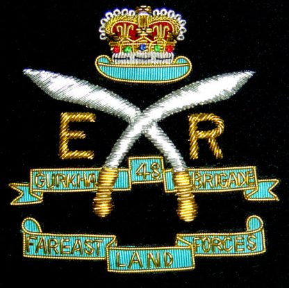 48 GURKHA BRIGADE - FAR EAST LAND FORCES