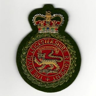 ROYAL LEICESTERSHIRE REGIMENT