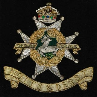 NOTTINGHAMSHIRE & DERBYSHIRE REGIMENT (Sherwood Foresters)