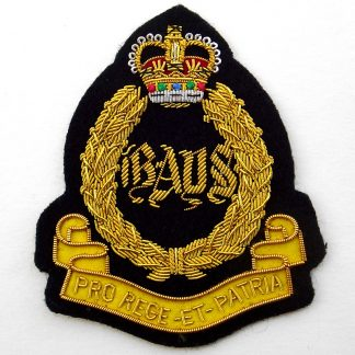 The 2nd Dragoon Guards (Queen's Bays) Bullion Embroidered Blazer badge