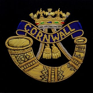 Duke of Cornwall's Light Infantry Blazer Badge